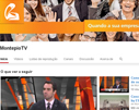 Sites Grupo Montepio -  Montepio TV