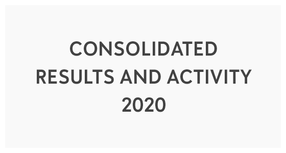 Consolidated Results and Activity 2020 (PDF)