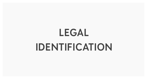 Legal Identification