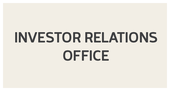 Investor Relations Office