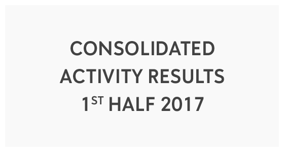 Consolidated Activity Results - 1st Half 2017 (PDF)