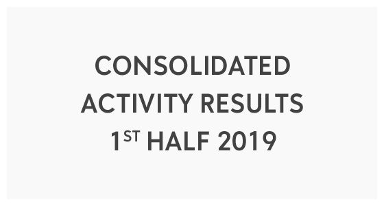 Consolidated Activity Results - 1st Half 2019 (PDF)