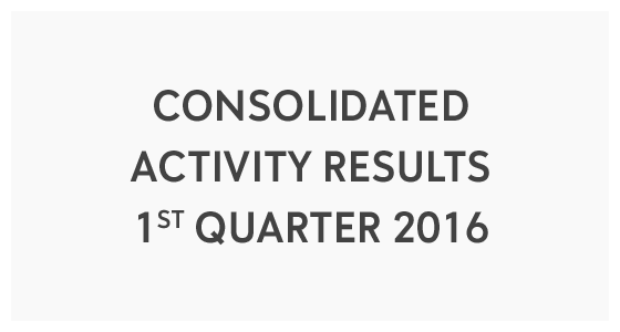 Consolidated Activity Results 1st Quarter 2016 (PDF)