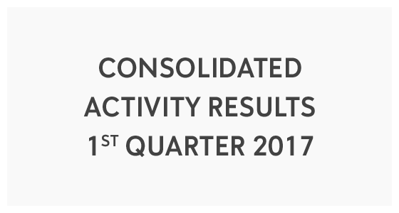 Consolidated Activity Results 1st Quarter 2017 (PDF)