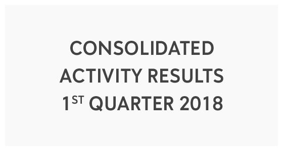Consolidated Activity Results 1st Quarter 2018 (PDF)
