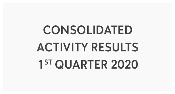 Consolidated Activity Results - 1st Quarter 2020 (PDF)