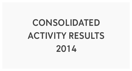 Consolidated Activity Results 2014 (PDF)