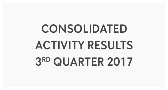 Consolidated Activity Results 3rd Quarter 2017 (PDF)