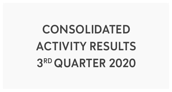 Consolidated Activity Results - 3rd Quarter 2020 (PDF)