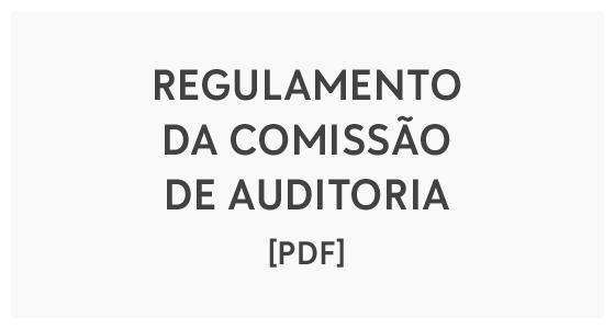 Regulamento da Comissão de Auditoria